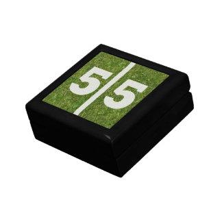 55th Gåvan för födelsedagfotbollsmycken boxas Minnessak