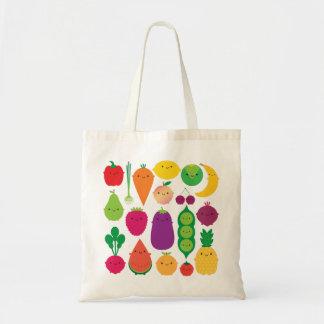 5 en dagfrukt & grönsaker tygkasse