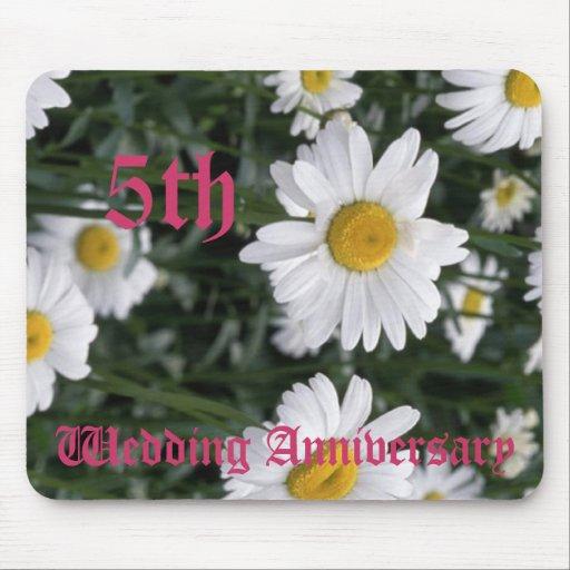 5th bröllopsdag - daisy mus mattor