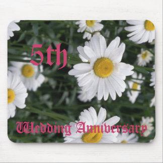 5th bröllopsdag - daisy musmattor