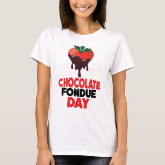 5th Februari - chokladFonduedag T Shirt