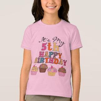 5th födelsedagTshirts och gåvor för nätt muffins T Shirts