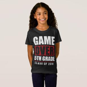 6b443f92a6de 5th Klassstudenten skolar börjar klassificerar T Shirt