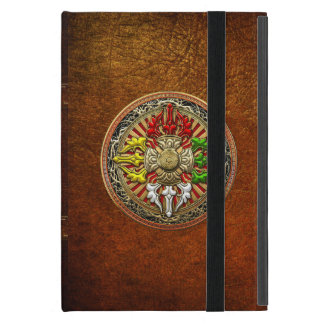 [600] Tibetan dubbel Dorje Mandala iPad Mini Fodral