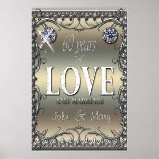 60 år av kärlek poster