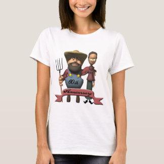 60th Bröllopsdaggåvor T Shirt