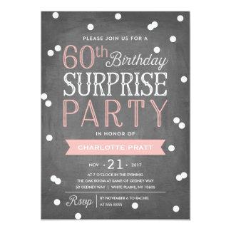 60th Födelsedag för inbjudan   för