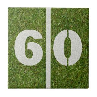 60th Födelsedagfotbollanpassadet belägger med tege Kakel