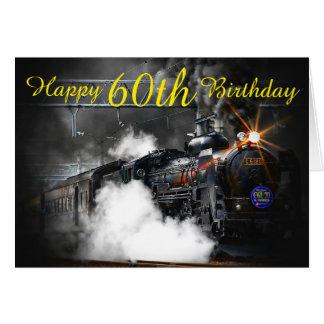 60th Kort för födelsedagångatåg