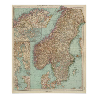 6162 sverige, norge poster