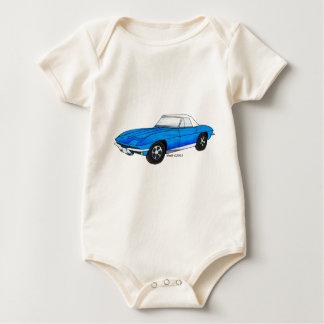 66 Corvette sticker strålen Body För Baby