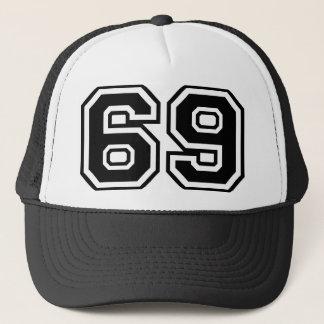 69 symbol för mode för pop för Sextio-Niosextio Truckerkeps