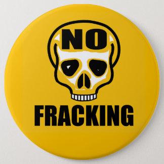 """6"""" inget Fracking emblem Jumbo Knapp Rund 15.2 Cm"""