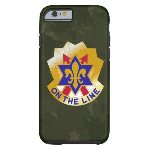 """6einfanteriuppdelning """"sikt Seein sjätte"""" Camo Tough iPhone 6 Fodral"""