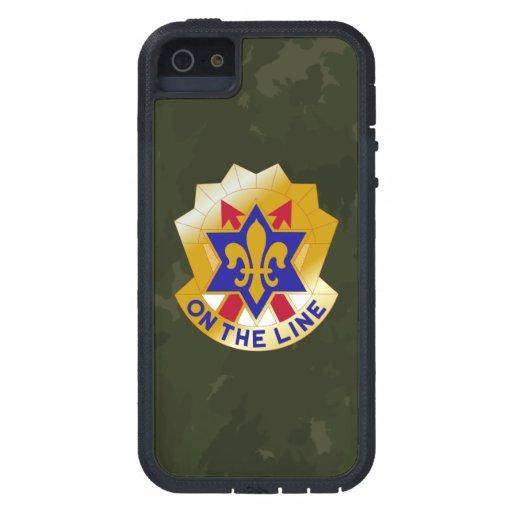 "6einfanteriuppdelning ""sikt Seein sjätte"" Camo iPhone 5 Cases"
