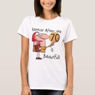 70 är härliga Tshirts och gåvor