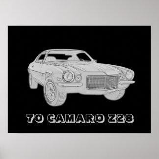 70 Camaro Z28 Poster