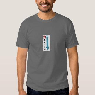 70 nedanför logotyp T.Shirt T Shirts