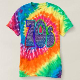 70-tal fångar - för att formulera Tie-färg! T-shirt