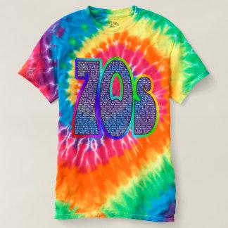 70-tal fångar - för att formulera Tie-färg! Tee