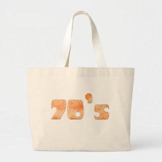 70-tal tote bags