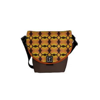 70-taldesignen 01 Seventies bryner orange värme Messenger Bag