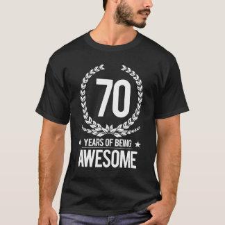 70th Födelsedag (70 år av att vara enorma) T-shirt