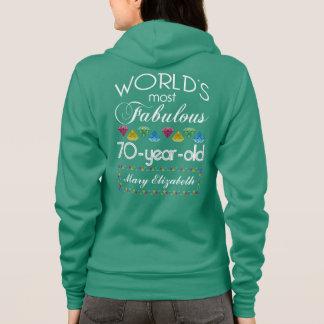 70th Födelsedag mest sagolik färgrik Gemturkos T Shirts