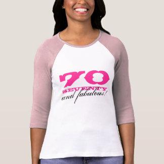 70th Födelsedagskjorta   70 och sagolikt! Tröja