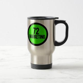 72 marknadsföra rostfritt stål isolerade muggkopp resemugg