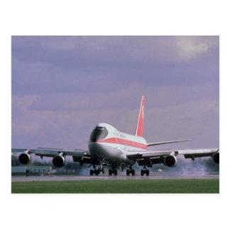 747 länder på den Pearson internationell Vykort
