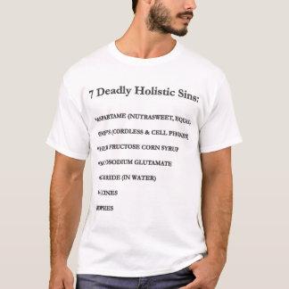 7 dödliga Holistic syndar T Shirts