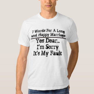7 ord för ett skräddarsy långt och lyckligt tröjor