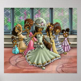 """""""7 Princesses """", Poster"""