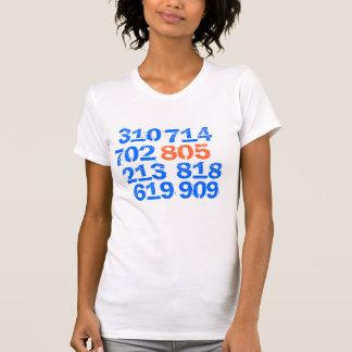 805 619, 714, 702, 818, 213, 909, 310 T SHIRTS