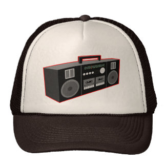 80-tal Boombox Keps