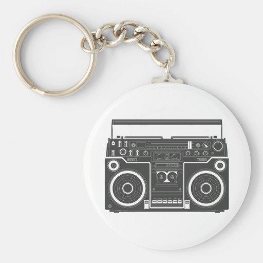 80-tal Boombox Nyckelring
