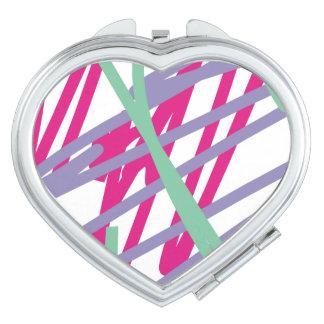 80-tal hänger lös konst för medley för stänk för fickspeglar