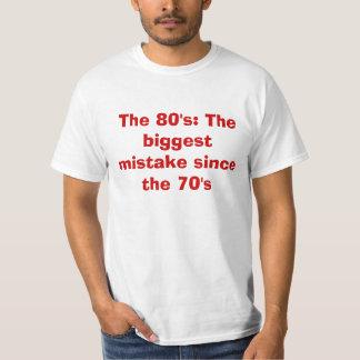 80-tal tee shirts