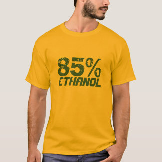 85% Ethanoldedikation 100% Tee Shirts