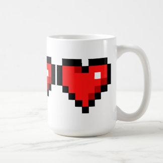 8 bet hjärta kaffemugg