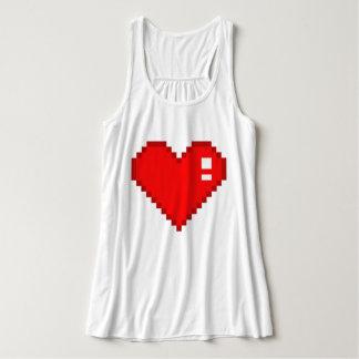 8 bet hjärta linne med racerback