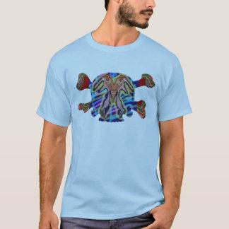 8 färgglada döskallar - samling för ART101 Tee Shirt