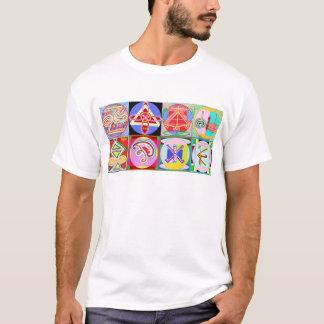 8 RENA Karuna REIKI tecken av Navin Joshi Tee Shirt