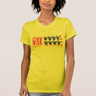 8 skjorta för nytt år 2017 för tuppar kinesiska tröjor