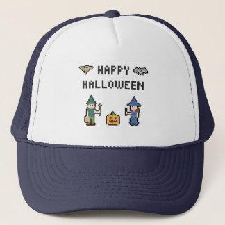 8bit Halloween Keps