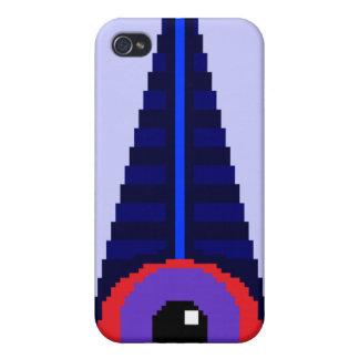 8Bit-Like Illuminati iPhone 4 Hud