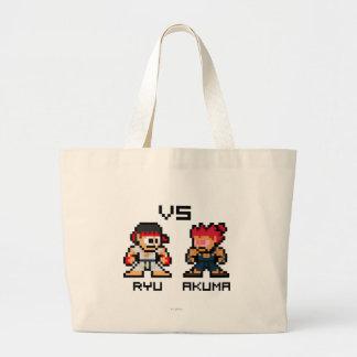 8bit Ryu VS Akuma Jumbo Tygkasse