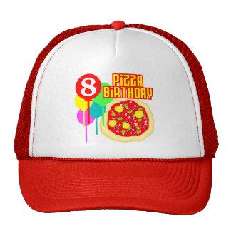 8th FödelsedagPizzafödelsedag Trucker Keps