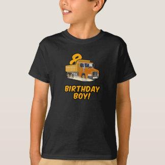 8th Skjorta för födelsedaglastbil T - pojke Bday T Shirts